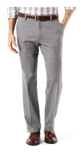 Exclusivo Pantalon Dockers Wrinkle Free 32x34 Gris