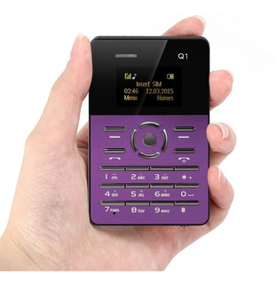 Celular Tarjeta, Aiek Q1, Radio, Grabadora, Alarma