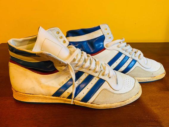 Tênis Basquete adidas Europa Hi Vintage Colecionador Us15