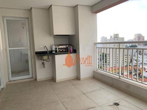 Apartamento Com 2 Dormitórios À Venda, 89 M² Por R$ 730.000,00 - Mooca (zona Leste) - São Paulo/sp - Ap3343