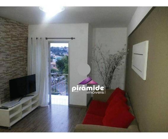 Apartamento Com 3 Dormitórios À Venda, 70 M² Por R$ 275.000,00 - Jardim Satélite - São José Dos Campos/sp - Ap9596