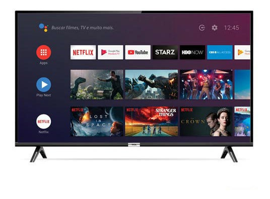 Smart Tv Tcl Led Full Hd 43 Com Google Assitant - 43s6500
