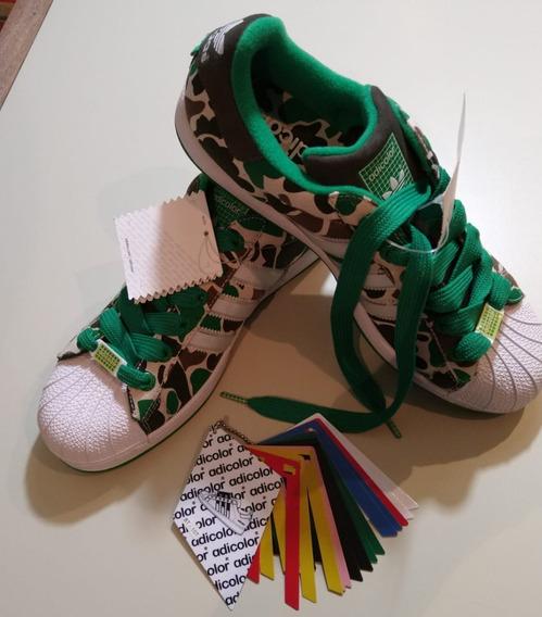 Zapatillas.sin Uso.traidas De Usa. Camufladas. Superstar