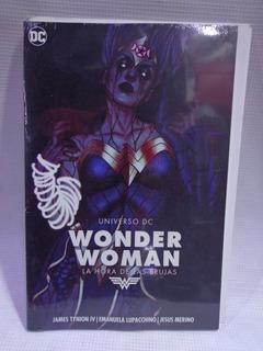 Wonder Woman La Hora De Las Brujas Dc Televisa Tpb