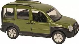 Miniatura Fiat Doblo, Clássicos Nacionais, Nova Lacrada