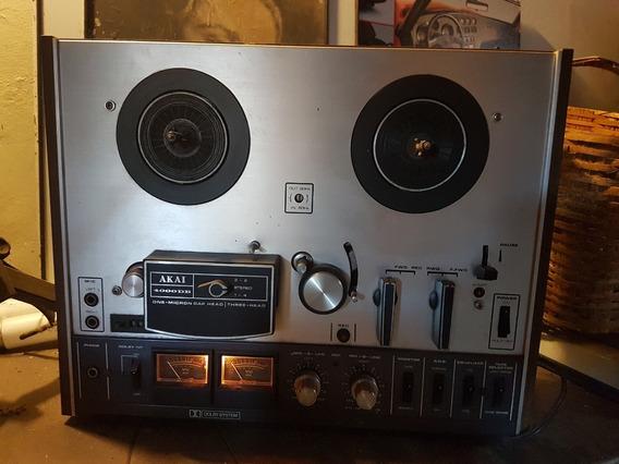 Tape De Rolo Akai 4000 Db