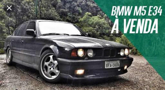 Bmw Bmw M5 E34 1992