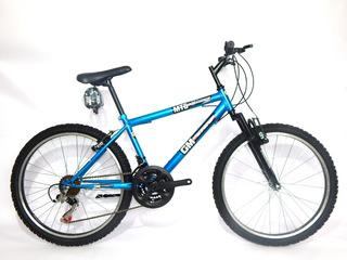 Bicicleta 19131 Mtb Gm Rodado 24 - 18 Velocidades Gm Store