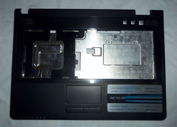 Carcaça Tampa Base Superior Touchpad Note Acteon Act N505