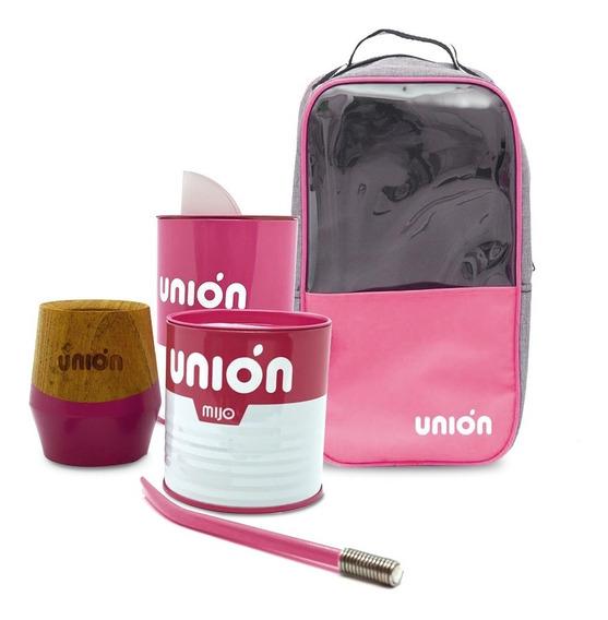 Kit Set Matero Unión Mijo Rosa