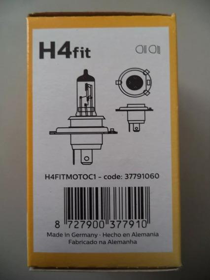 10 Lâmpada Philips H4 Fit Original 35w/35w Cg/fan/titan/ybr