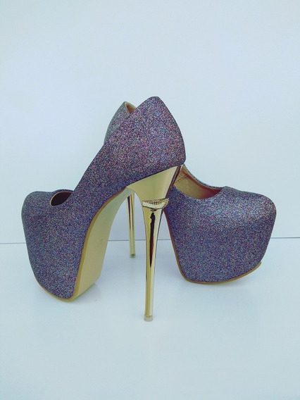 Sapato Salto Alto Importado - Frete Grátis