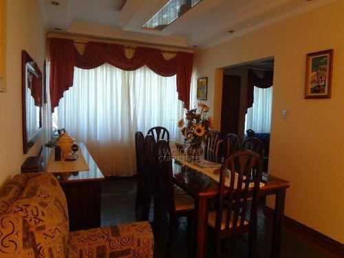Sobrado Com 4 Dormitórios À Venda, 259 M² Por R$ 650.000,00 - Vila Lucinda - Santo André/sp - So0832