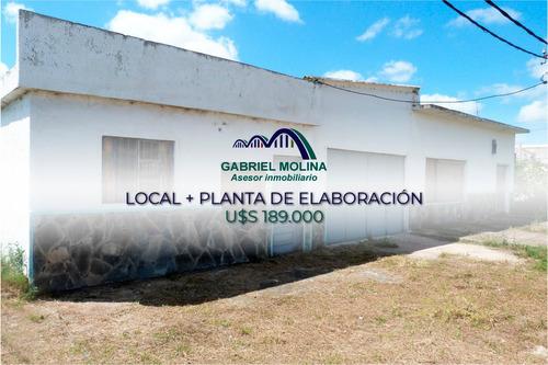 En Venta, Local Comercial + Planta De Elaboración.