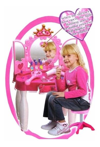 Penteadeira Infantil Princesa Com Controle Remoto E Mp3