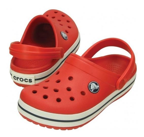 Crocs Crocband Niños Red