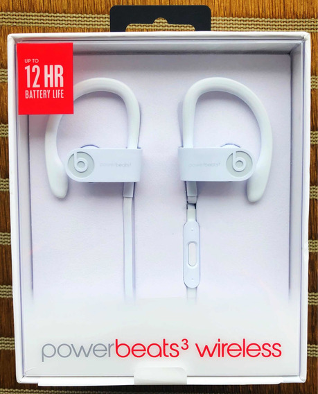 Fone Apple Powerbeats3 Wireless Beats Branco - Seminovo