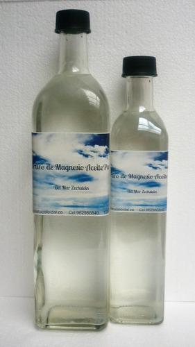 Aceite De Magnesio Paquete 500,1000ml Botellas