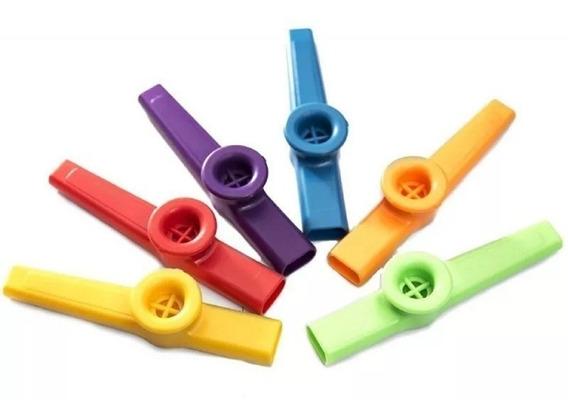 Kazoo Stagg De Plastico Varios Colores Por 10 Uniades Yulmar
