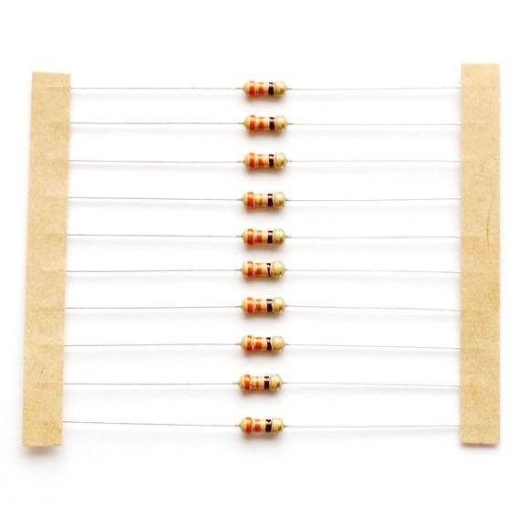 Resistor Carbono 330r 330 1/8w 5% - 200 Unidades