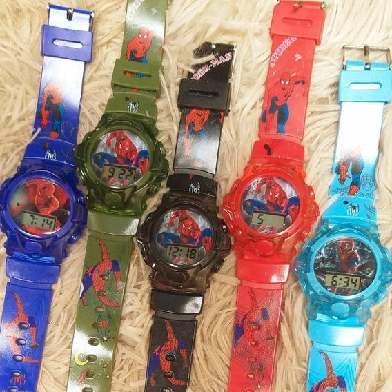 Relógios Infantis Em Atacado (kit Com 10 Unidades)