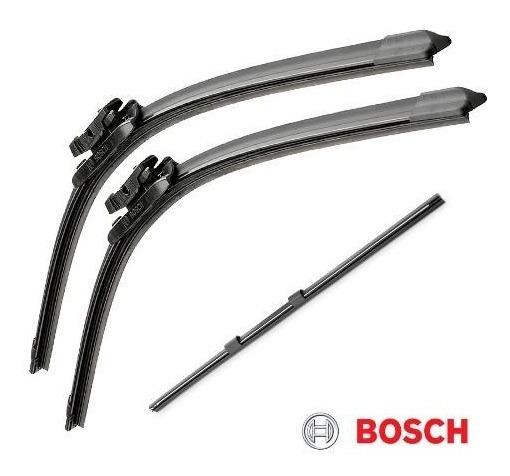 Limpador Para-brisa Bosch + Refil Traseiro Honda Fit 2009 2010 2011 2012 2013 2014