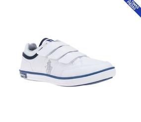 Tennis Escolar Polo Color Blanco Rza 123909