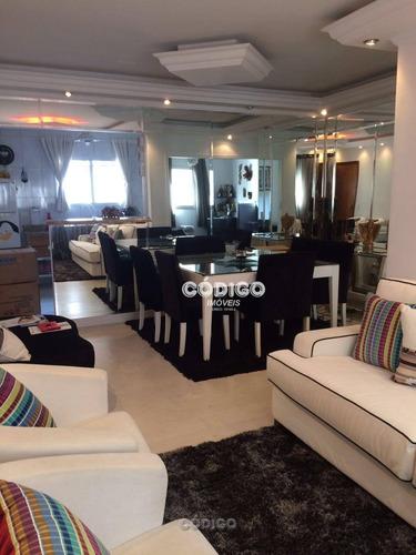 Imagem 1 de 20 de Apartamento Com 3 Dorms 2 Vagas 91 M² Por R$ 495.000 - Vila Augusta - Guarulhos/sp - Ap0277