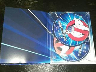 Ghostbusters 1 Y 2 Digibook Bluray Nuevo