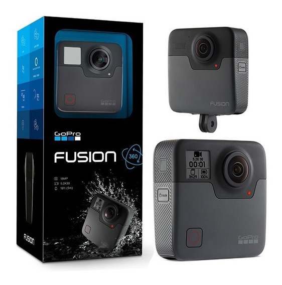 Gopro Fusion 360 / Video 5.2k / Foto 18 Megapixels / 12x