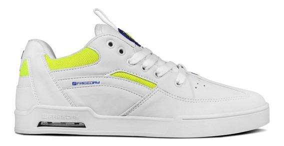 Tenis Freeday Arcade Branco/neon/branco - 48806