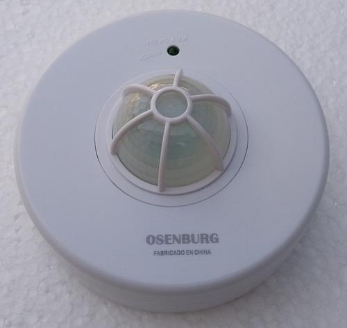 Sensor De Movimiento 360º Control Luces Selector Tiempo