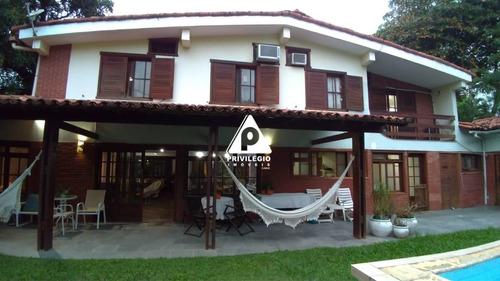 Casa Em Condomínio À Venda, 4 Quartos, 1 Suíte, 4 Vagas, Barra Da Tijuca - Rio De Janeiro/rj - 25926