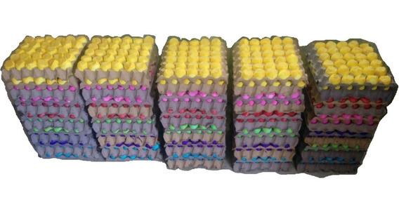 Promocion!! 720 Piezas Huevo Relleno De Confeti Colores Mate