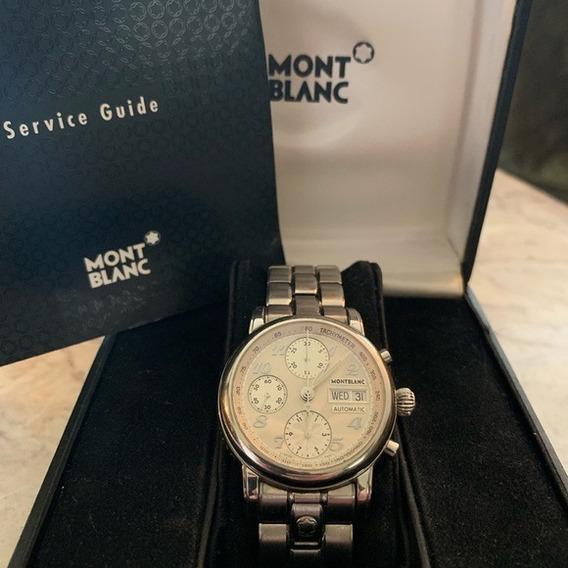 Montblanc Star 4810 7016 501 Automatico Chrono Impecavel
