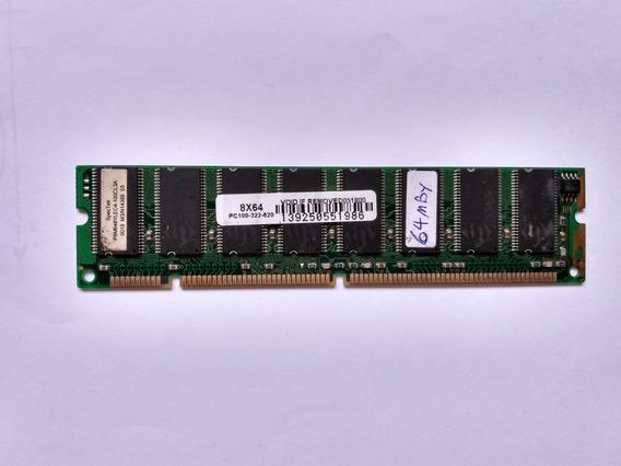 Memoria Dimm 64mb Pc100
