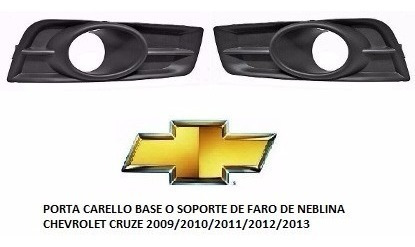 Soporte Base De Faro Anti Niebla Chevrolet Cruze 2009 2013