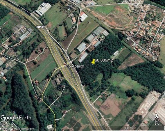 Área À Venda, 60089 M² Por R$ 3.900.000,00 - Rio Abaixo - Atibaia/sp - Ar0337