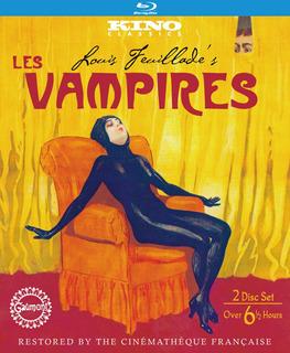 Los Vampiros, Les Vampires, De Louis Feuillade 2 Blu Ray Set