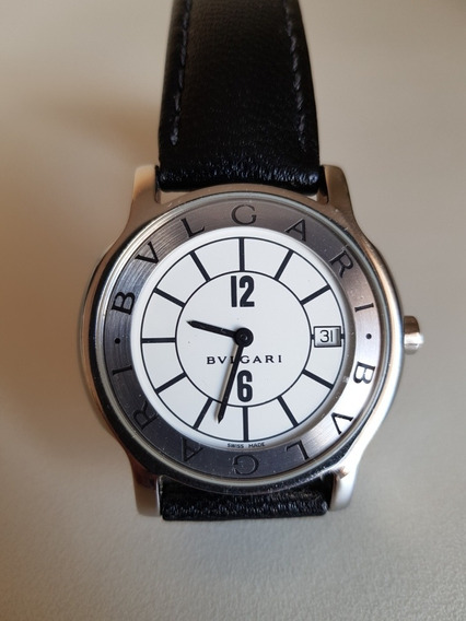 Relógio Bulgari Bvlgari Solotempo 35 Quartz