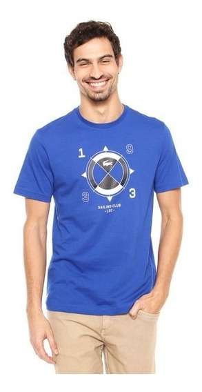 Camiseta Lacoste Sailing Club Azul
