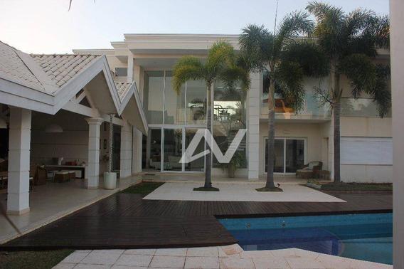 Casa Com 4 Dormitórios À Venda, 750 M² Por R$ 5.600.000,00 - Condomínio Morro Vermelho - Mogi Mirim/sp - Ca0349