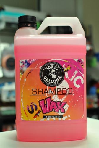 Shampoo Wax Toxic Shine Con Cera De Carnauba Galon 4 Litros
