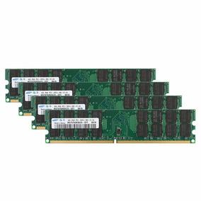 Memória Ram Samsung Ddr2 16gb 4x4gb 800mhz Pc2-6400 Para Amd