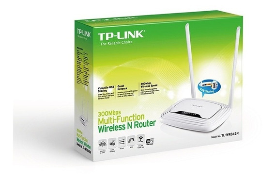 Router Wifi Tp-link Tl-wr842n 300mbps