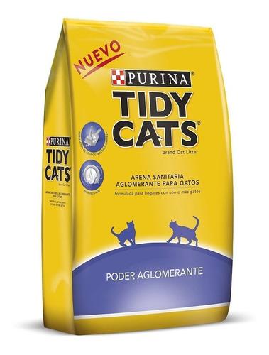 Arena Sanitaria Tidy Cats Aglomerante Para Gatos 9 Kilos