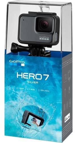 Câmera Gopro Hero 7 Silver Original Pronta Entrega