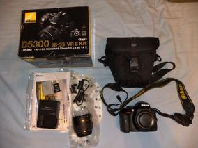 Câmera Nikon D5300 Kit Vrii 18-55mm