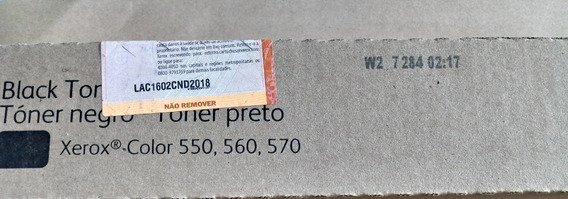 Toner Xerox Preto X550-x560-570-c60-c70 6r1529 / 006r1529