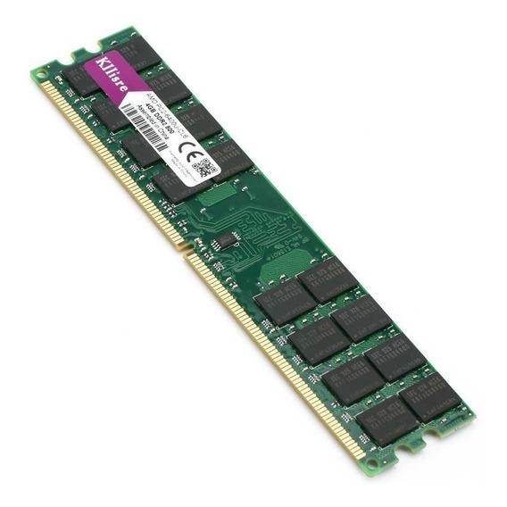 Memórias Ddr2 8gb 800mhz-kit 2 Memórias De 4gb Cada Para Amd